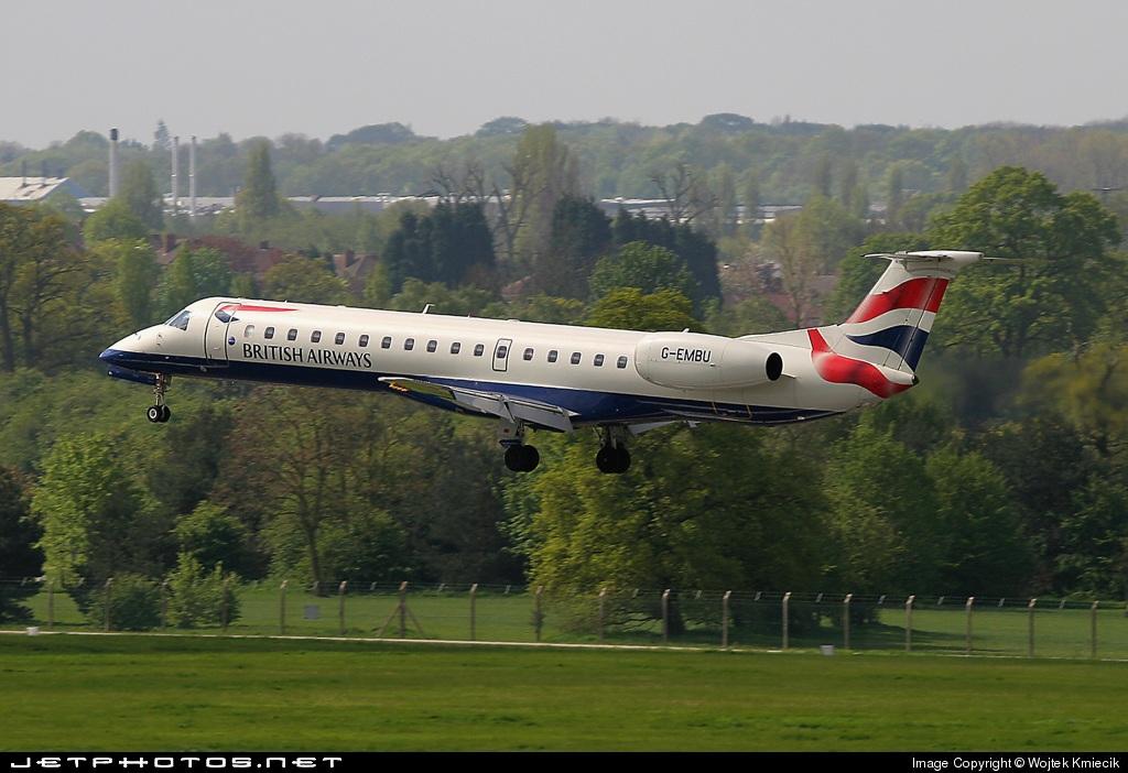 G-EMBU - Embraer ERJ-145EU - British Airways (CitiExpress)