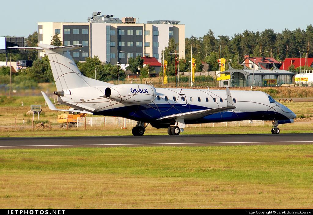 OK-SLN - Embraer ERJ-135BJ Legacy - ABA Air
