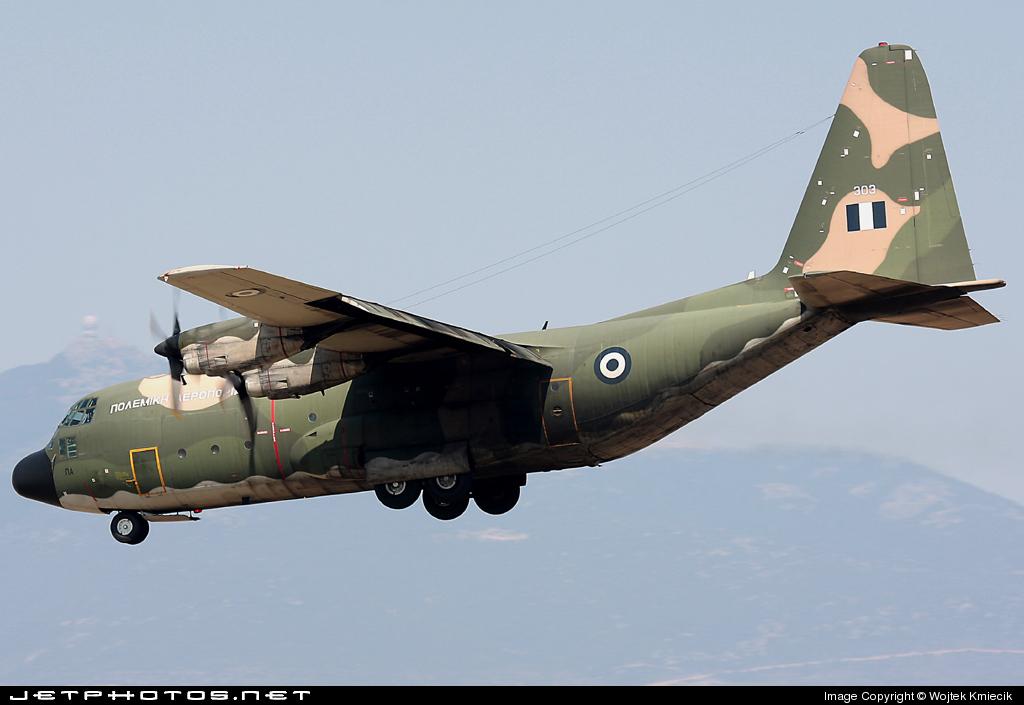 303 - Lockheed C-130B Hercules - Greece - Army