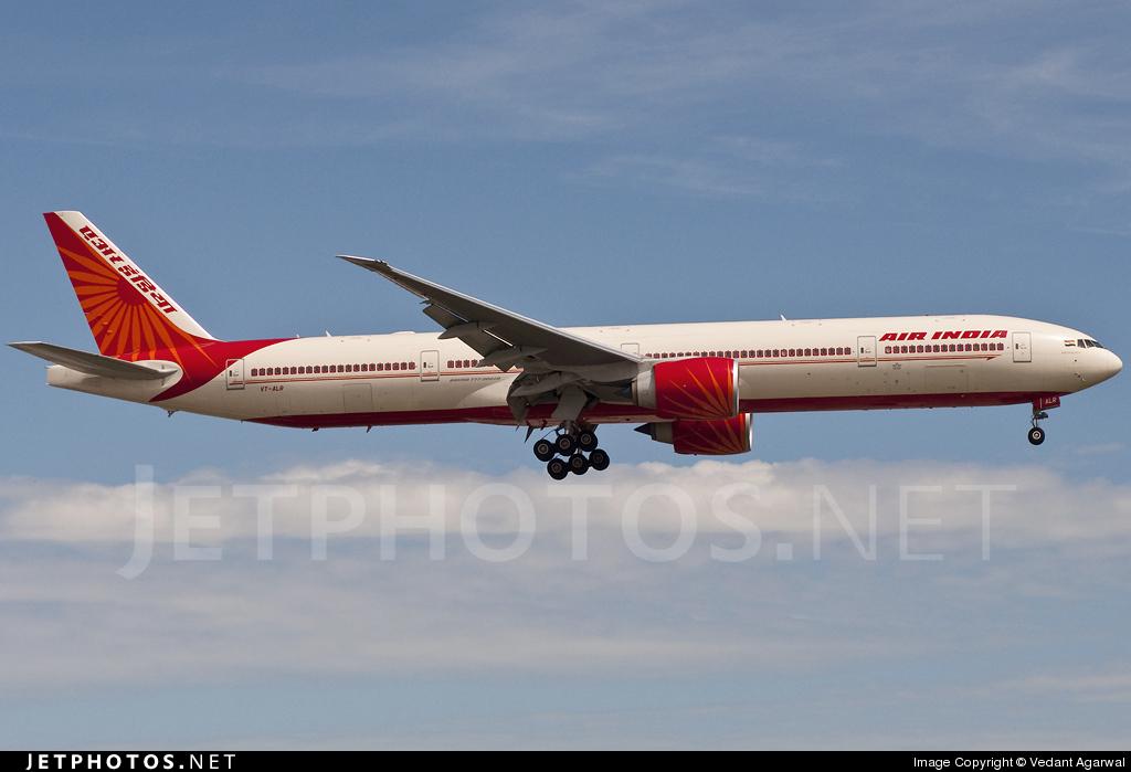 VT-ALR - Boeing 777-337ER - Air India