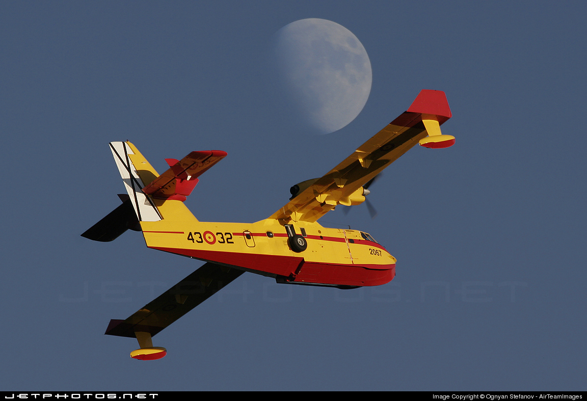 UD.14-02 - Canadair CL-215T - Spain - Air Force