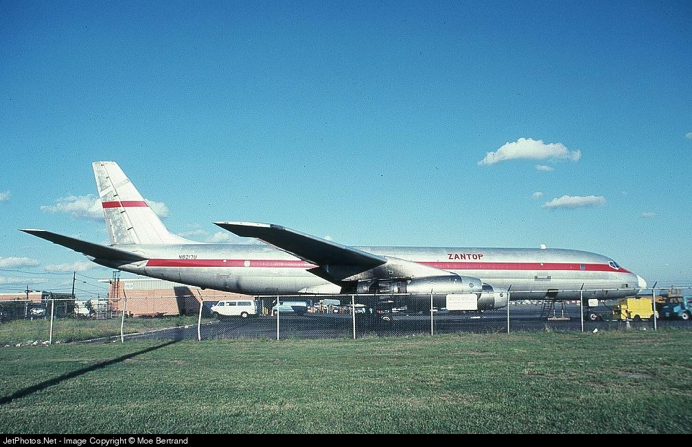 N8217U - Douglas DC-8-33(F) - Zantop International Airlines
