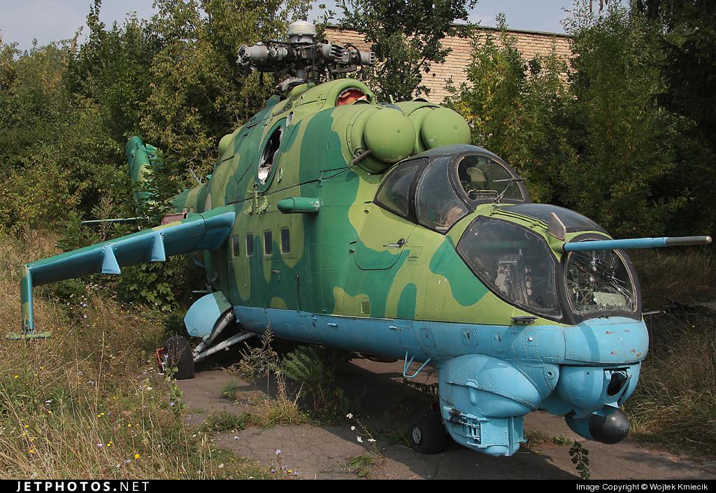70 - Mil Mi-24 Hind - Ukraine - Air Force