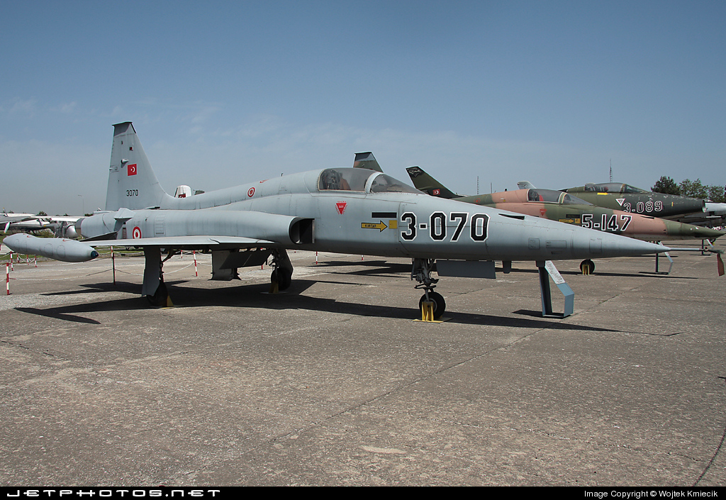 71-3070 - Canadair NF-5A Freedom Fighter - Turkey - Air Force