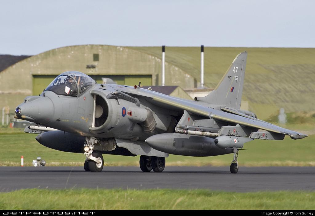 ZD435 - British Aerospace Harrier GR.9 - United Kingdom - Royal Air Force (RAF)