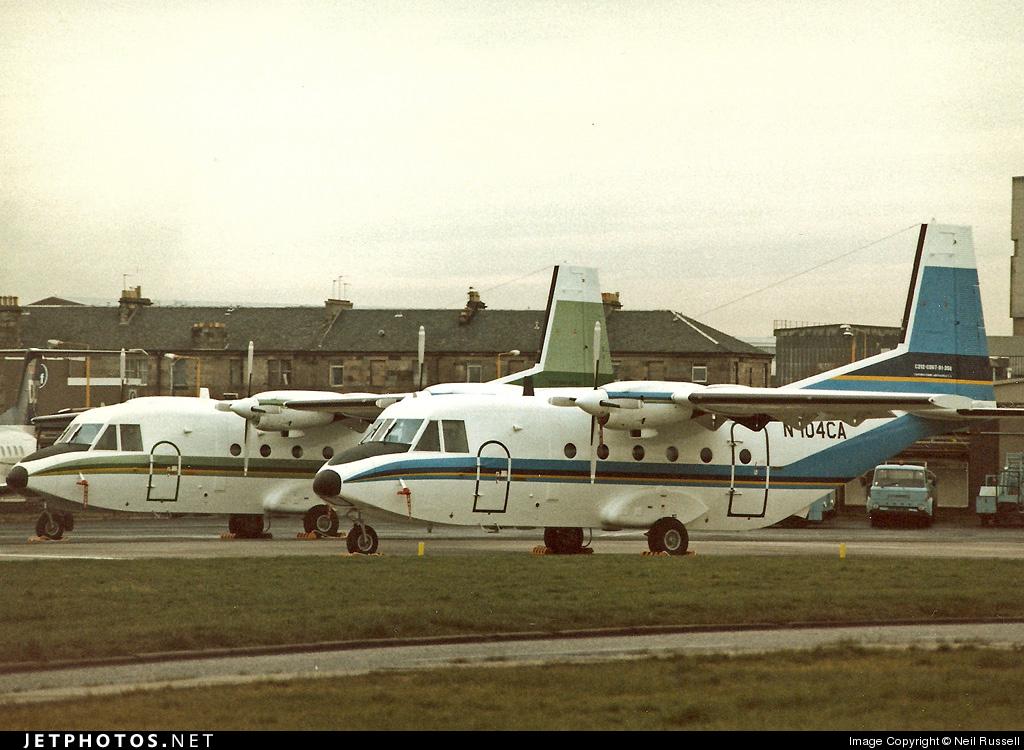 N104CA - CASA C-212-200 Aviocar - CASA