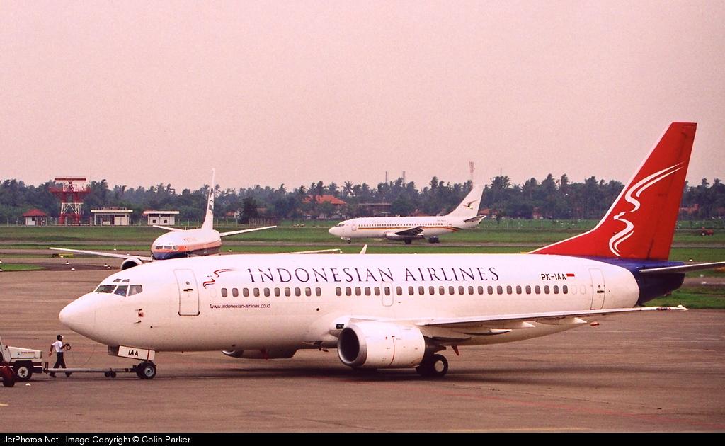 PK-IAA - Boeing 737-330 - Indonesian Airlines