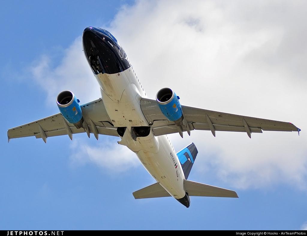 N254MX - Airbus A319-112 - Mexicana