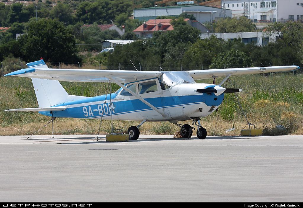 9A-BDM - Reims-Cessna F172H Skyhawk - Split Air