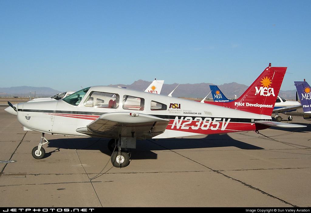 N2385V - Piper PA-28-161 Warrior II - Mesa Pilot Development