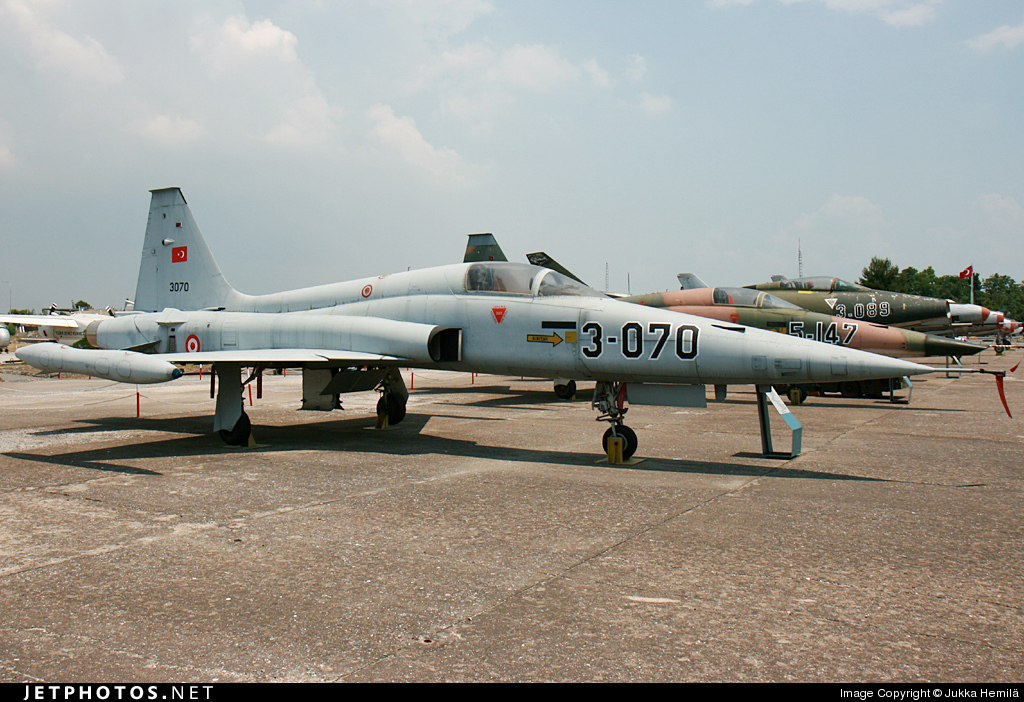 3070 - Canadair NF-5A Freedom Fighter - Turkey - Air Force