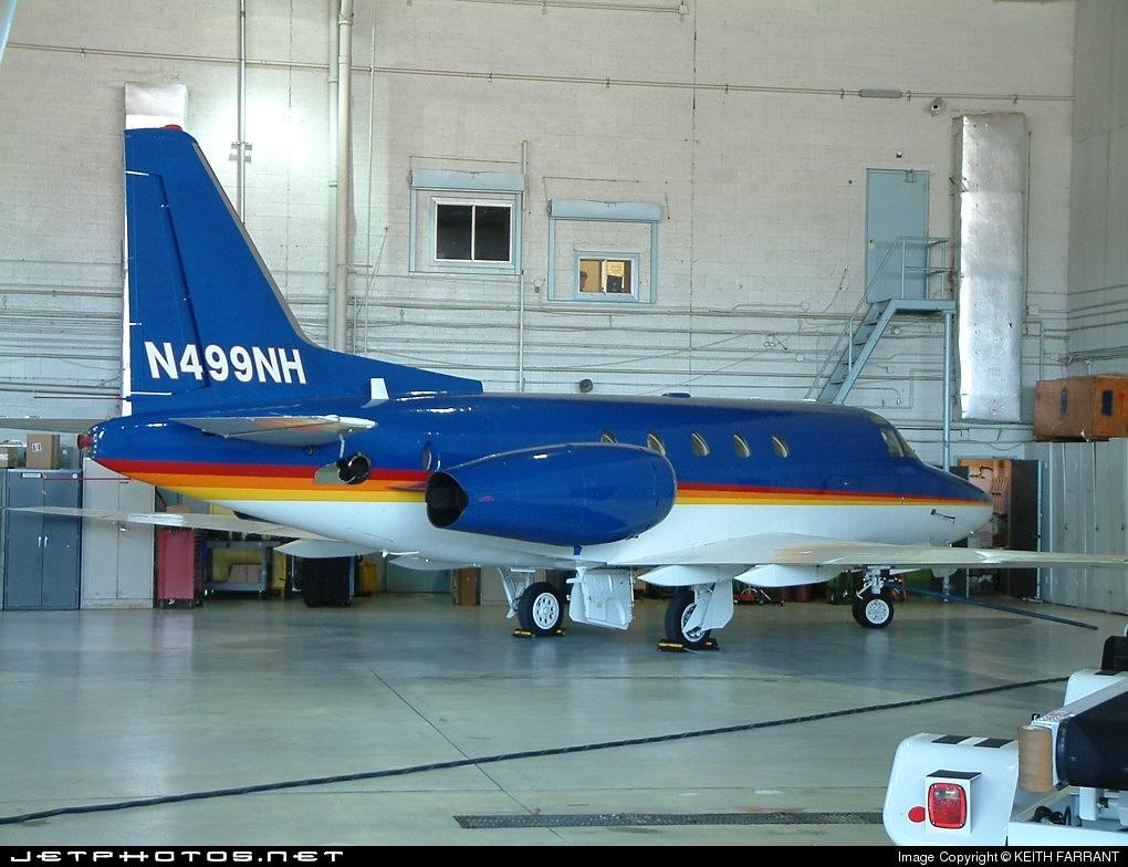 N499NH - Rockwell Sabreliner 65 - Private