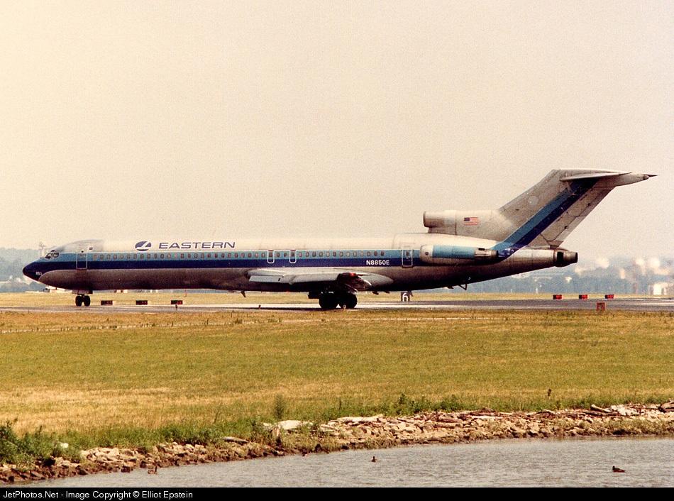 N8850E - Boeing 727-225 - Eastern Air Lines