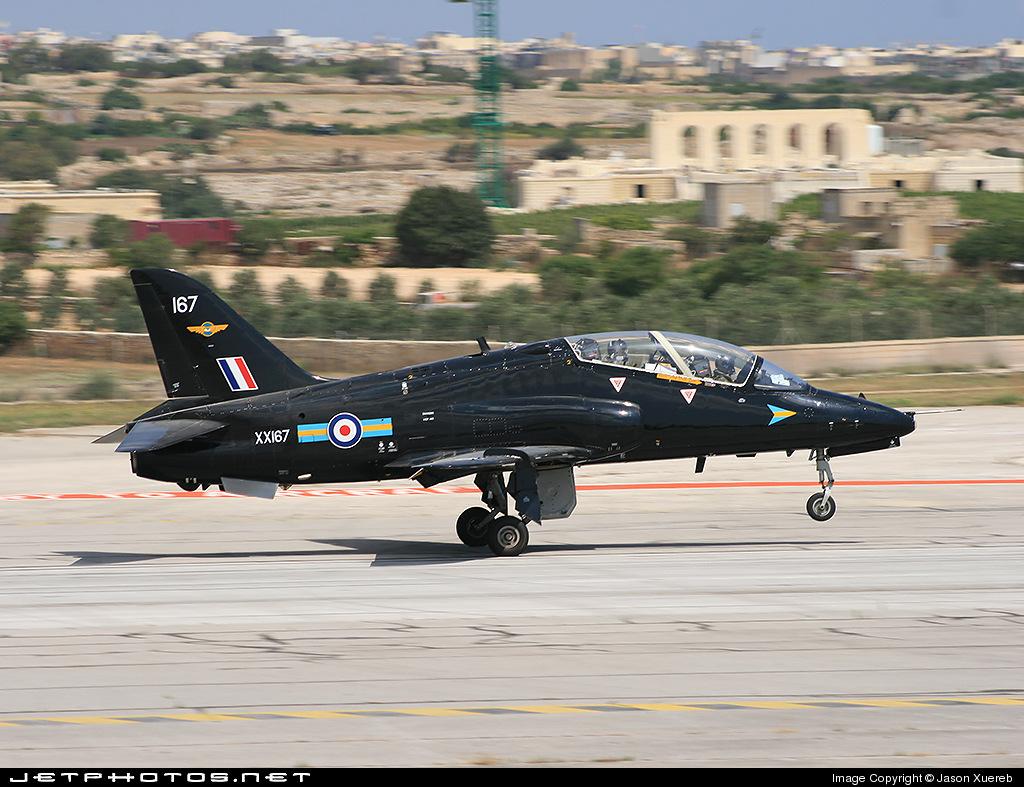 XX167 - British Aerospace Hawk T.1W - United Kingdom - Royal Air Force (RAF)