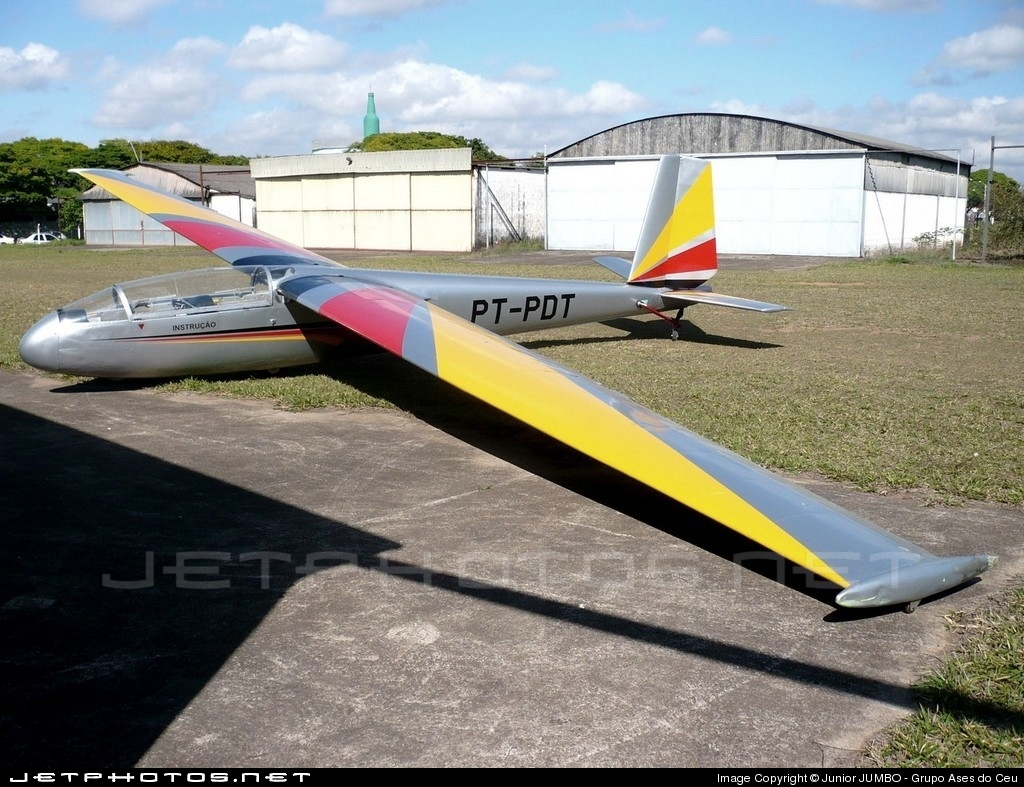 PT-PDT - Let L-13 Blanik - Aero Club - Vôo a Vela CTA