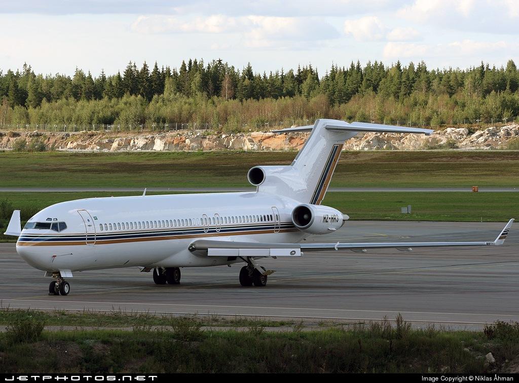 HZ-HR3 - Boeing 727-2Y4(Adv) - Private