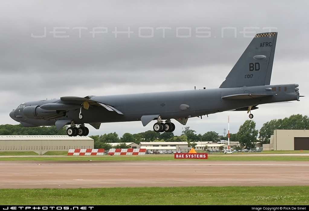 61-0017 - Boeing B-52H Stratofortress - United States - US Air Force (USAF)