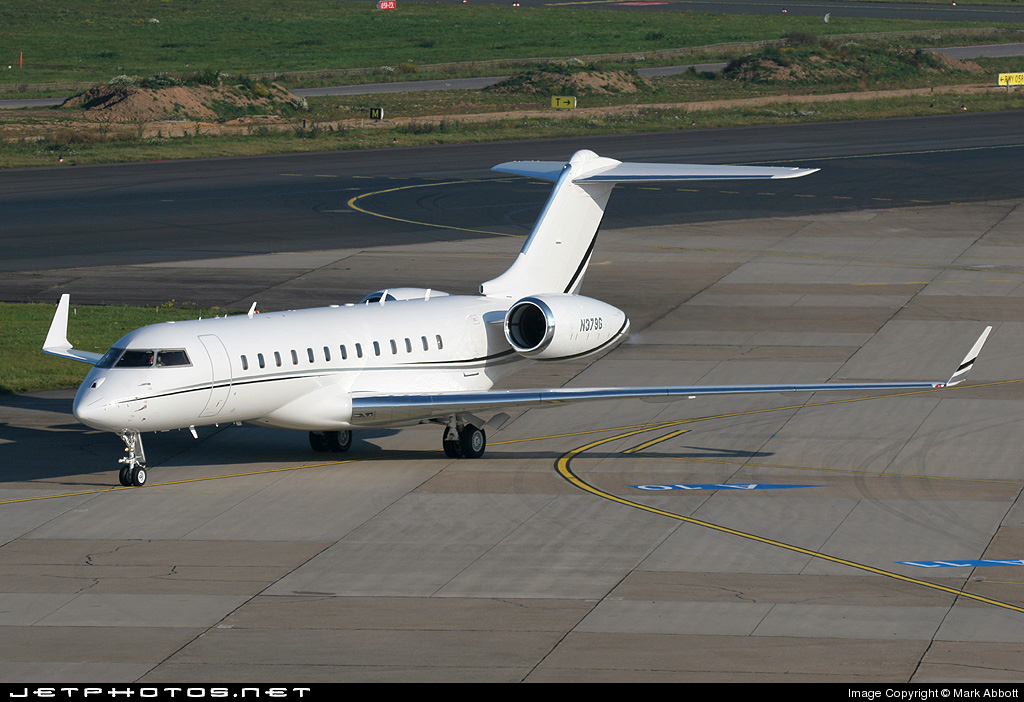 N379G - Bombardier BD-700-1A10 Global Express XRS - Private