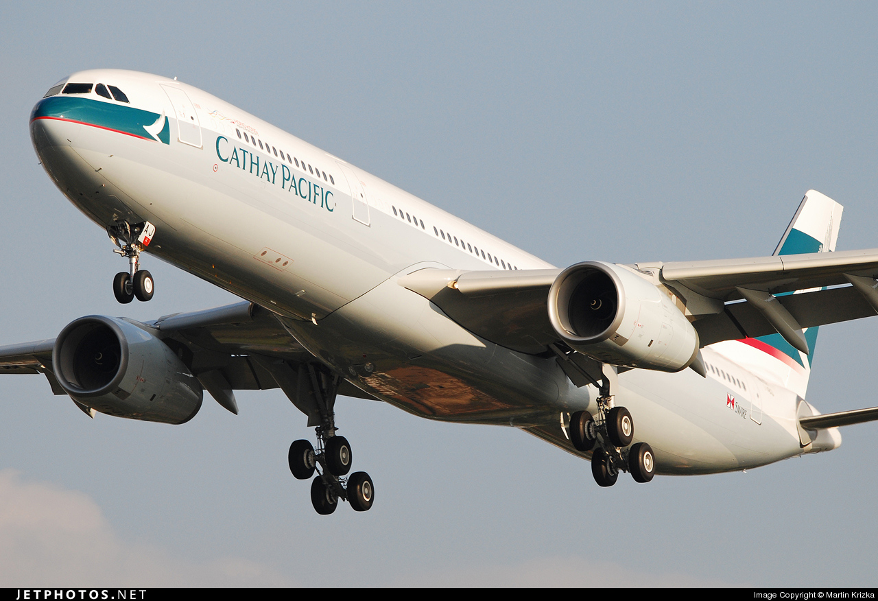 F-WWKR - Airbus A330-342 - Cathay Pacific Airways