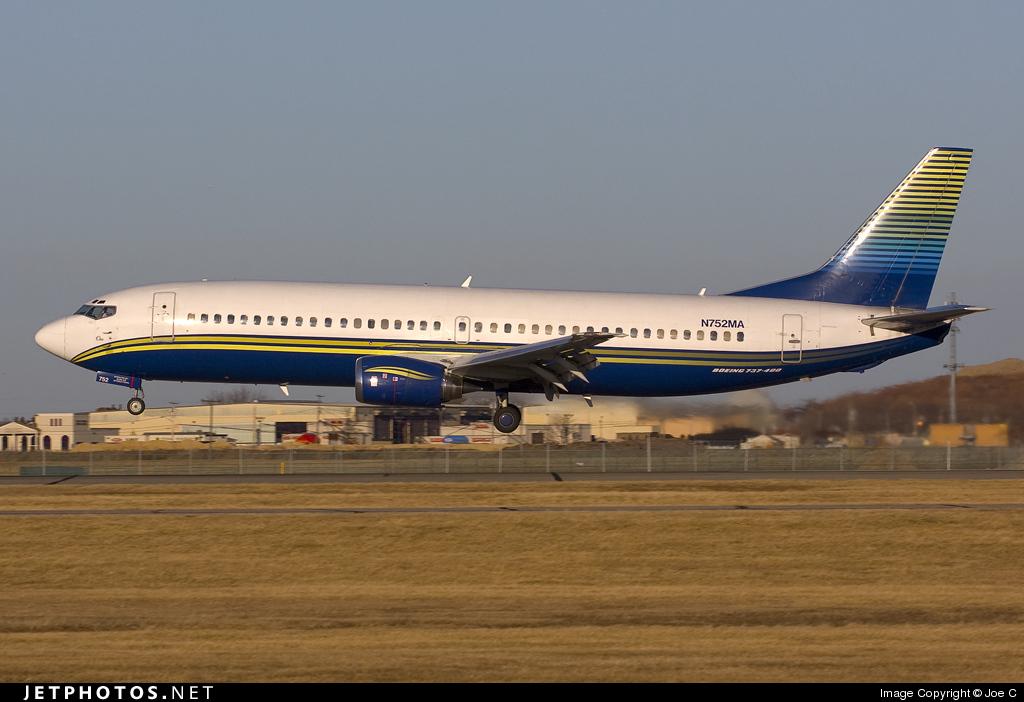 N752MA - Boeing 737-48E - Miami Air International