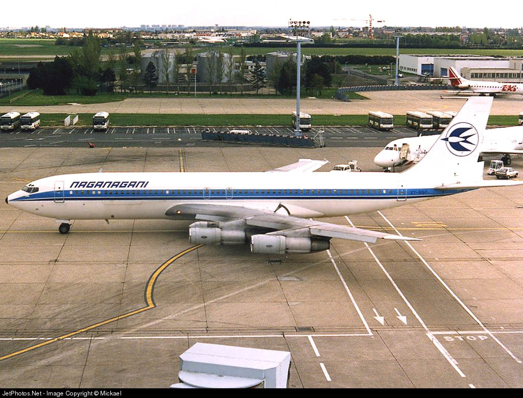 XT-BBF - Boeing 707-328C - Compagnie Aérienne Naganagani