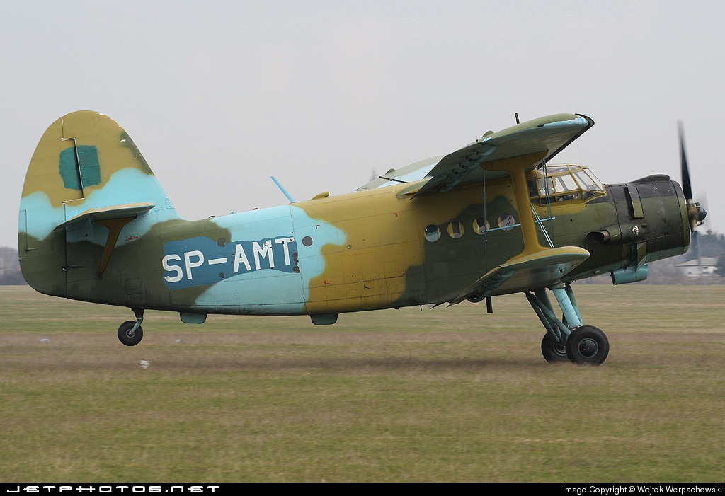 SP-AMT - PZL-Mielec An-2 - Aero Club - Lubelski