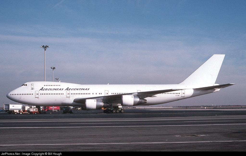 EI-BWF - Boeing 747-283B(M) - Aerolíneas Argentinas