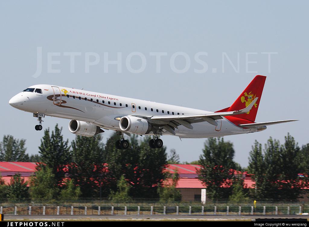 B-3129 - Embraer 190-100LR - Grand China Express