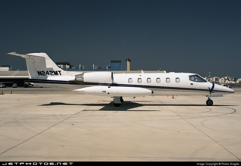 N242MT - Gates Learjet 35A - Private