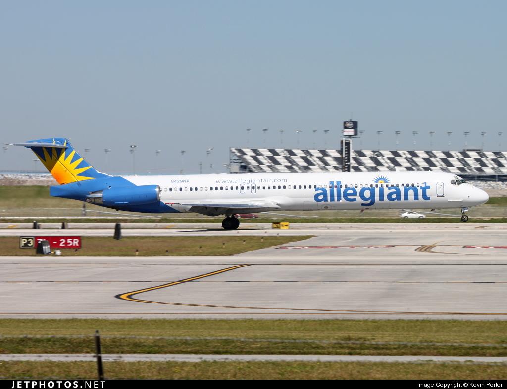 N429NV - McDonnell Douglas MD-82 - Allegiant Air