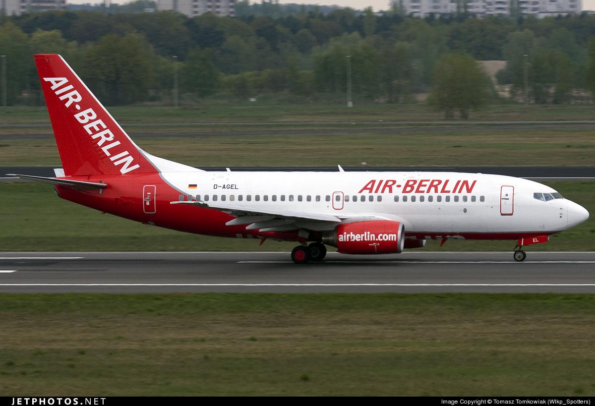 D-AGEL - Boeing 737-75B - Air Berlin (Germania)