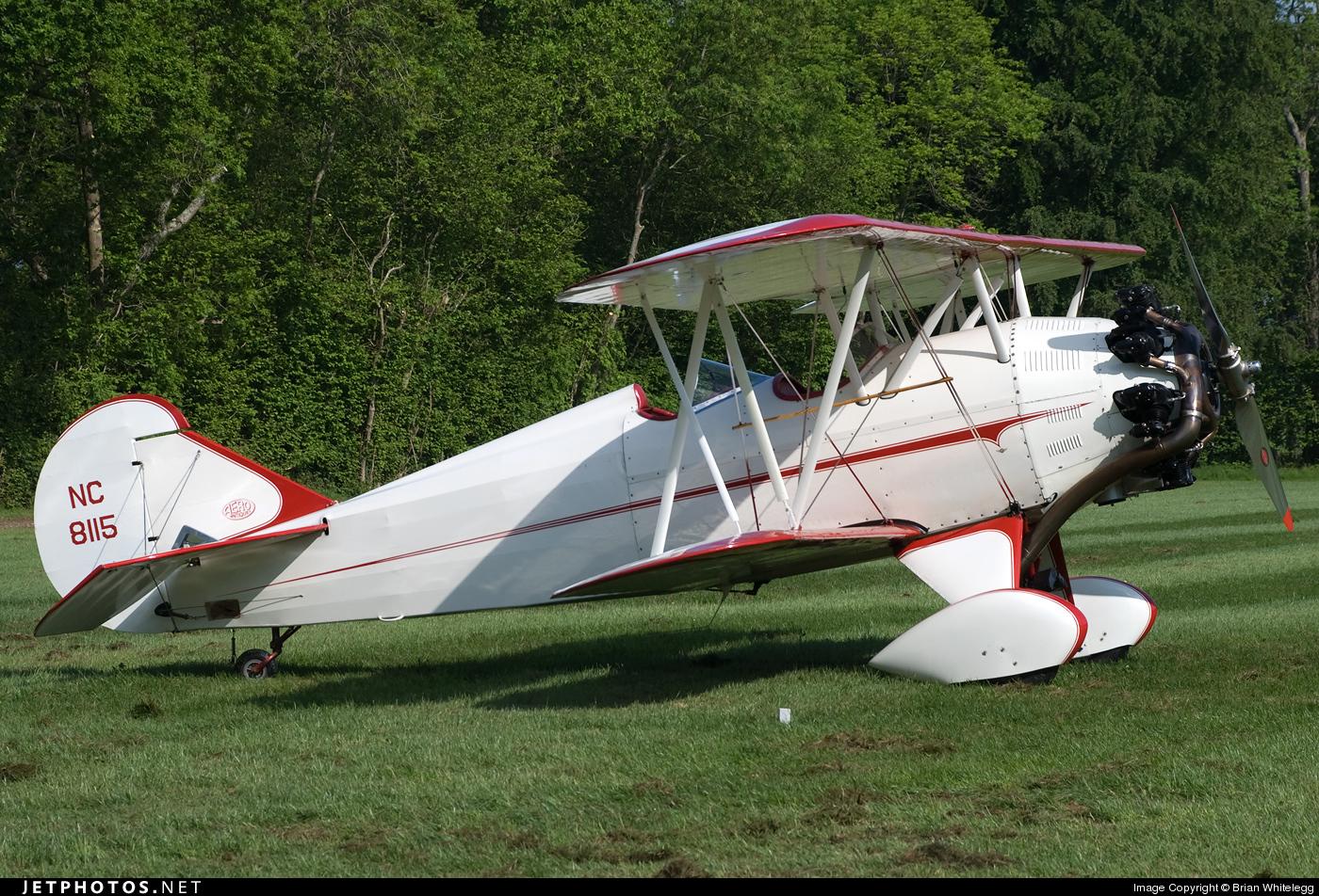 NC8115 - Curtiss-Wright Travel Air 4000 - Private