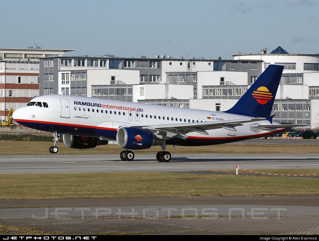 D-AHIH - Airbus A319-111 - Hamburg International