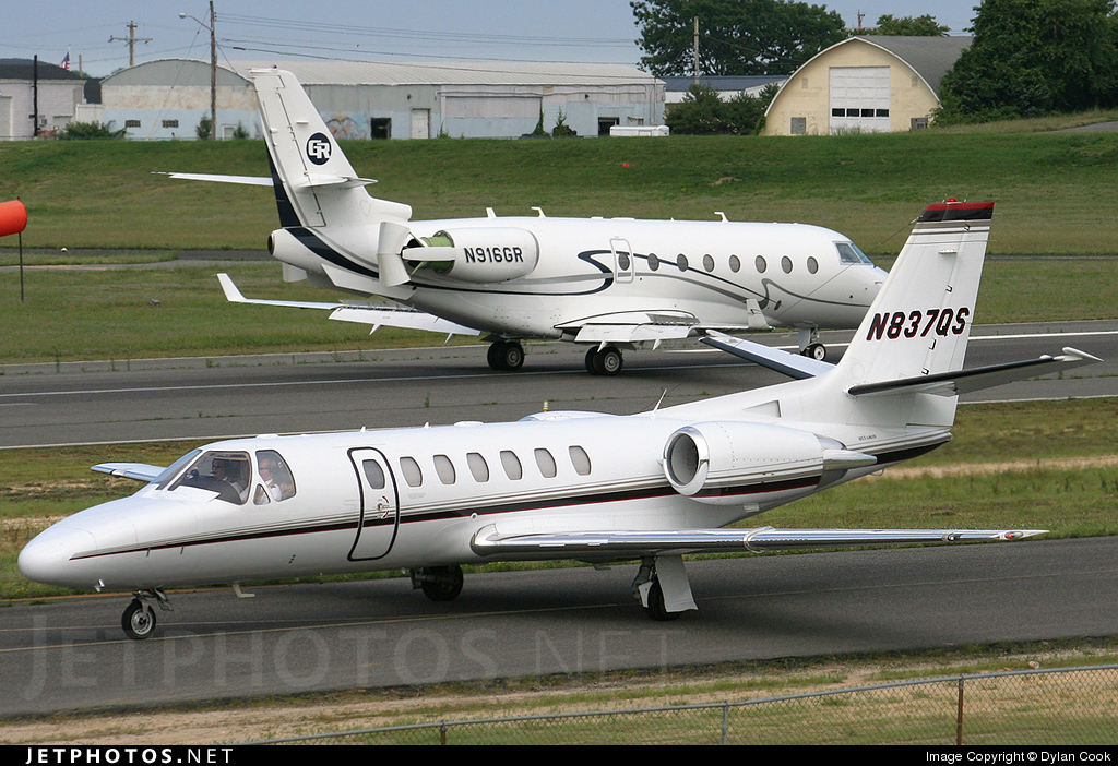 N837QS - Cessna 560 Citation Ultra - NetJets Aviation