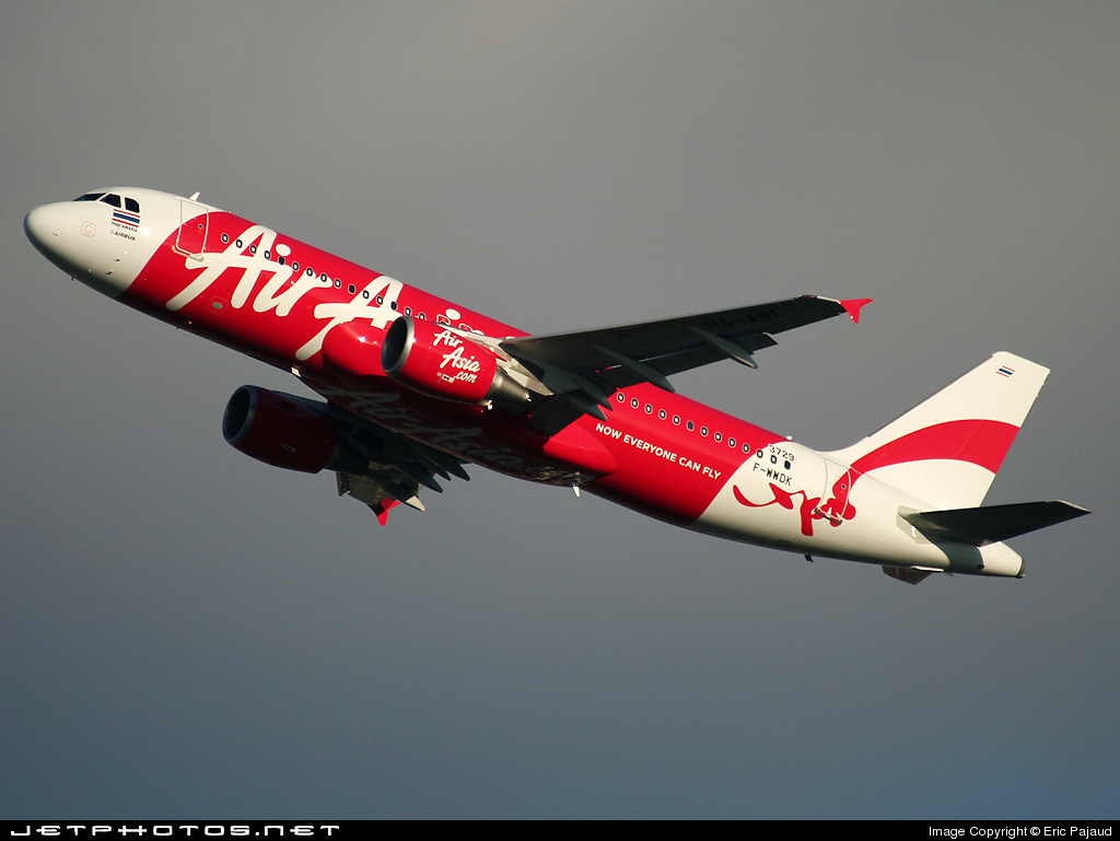 F-WWDK - Airbus A320-216 - Thai AirAsia