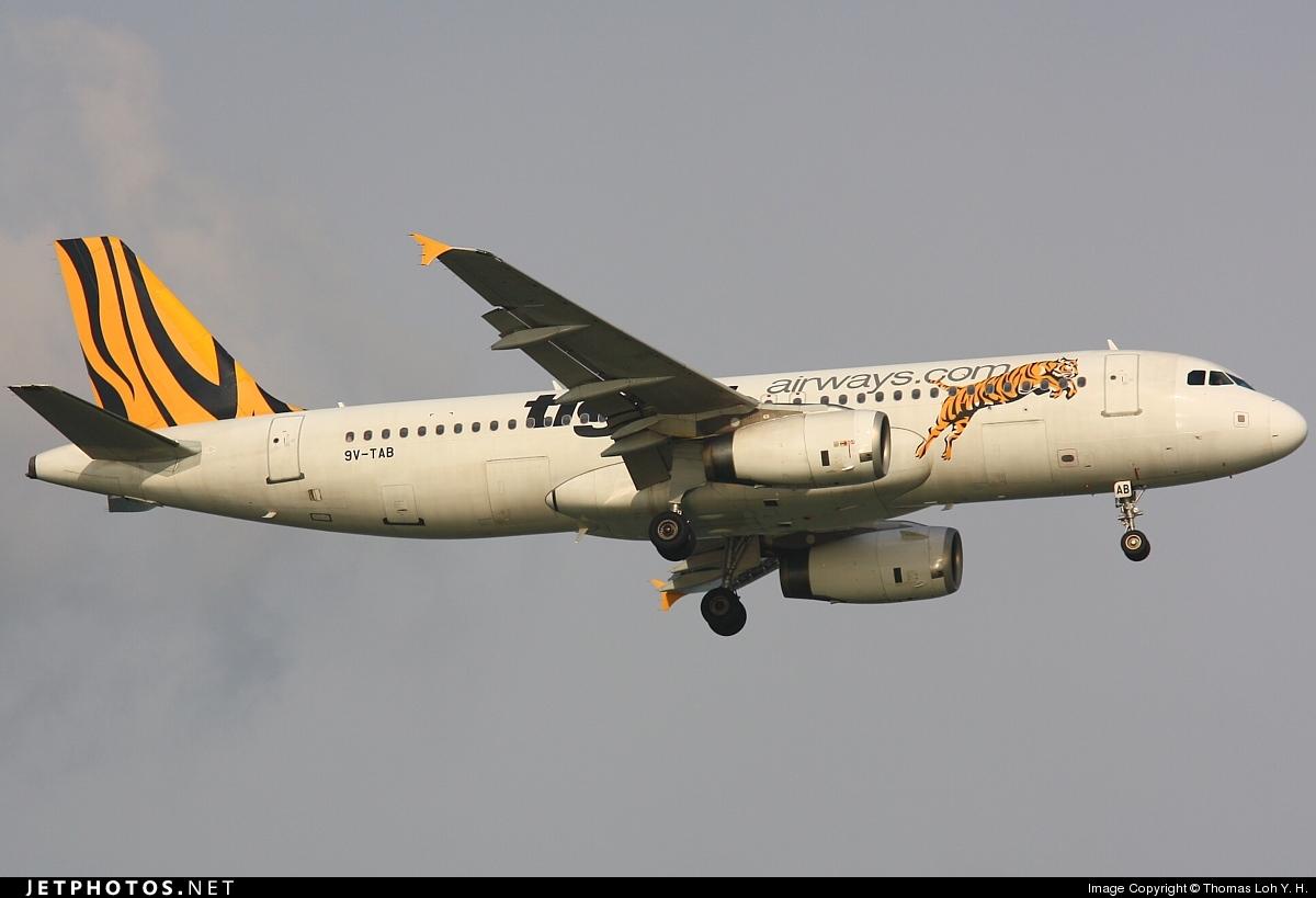 9V-TAB - Airbus A320-232 - Tiger Airways