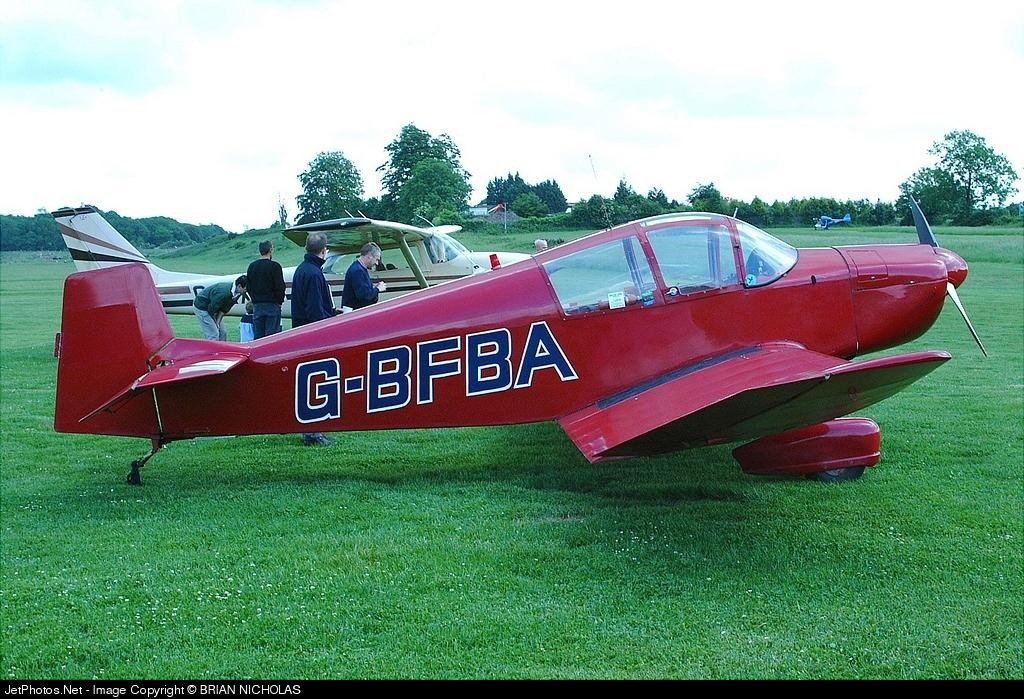 G-BFBA - Jodel DR100A - Private