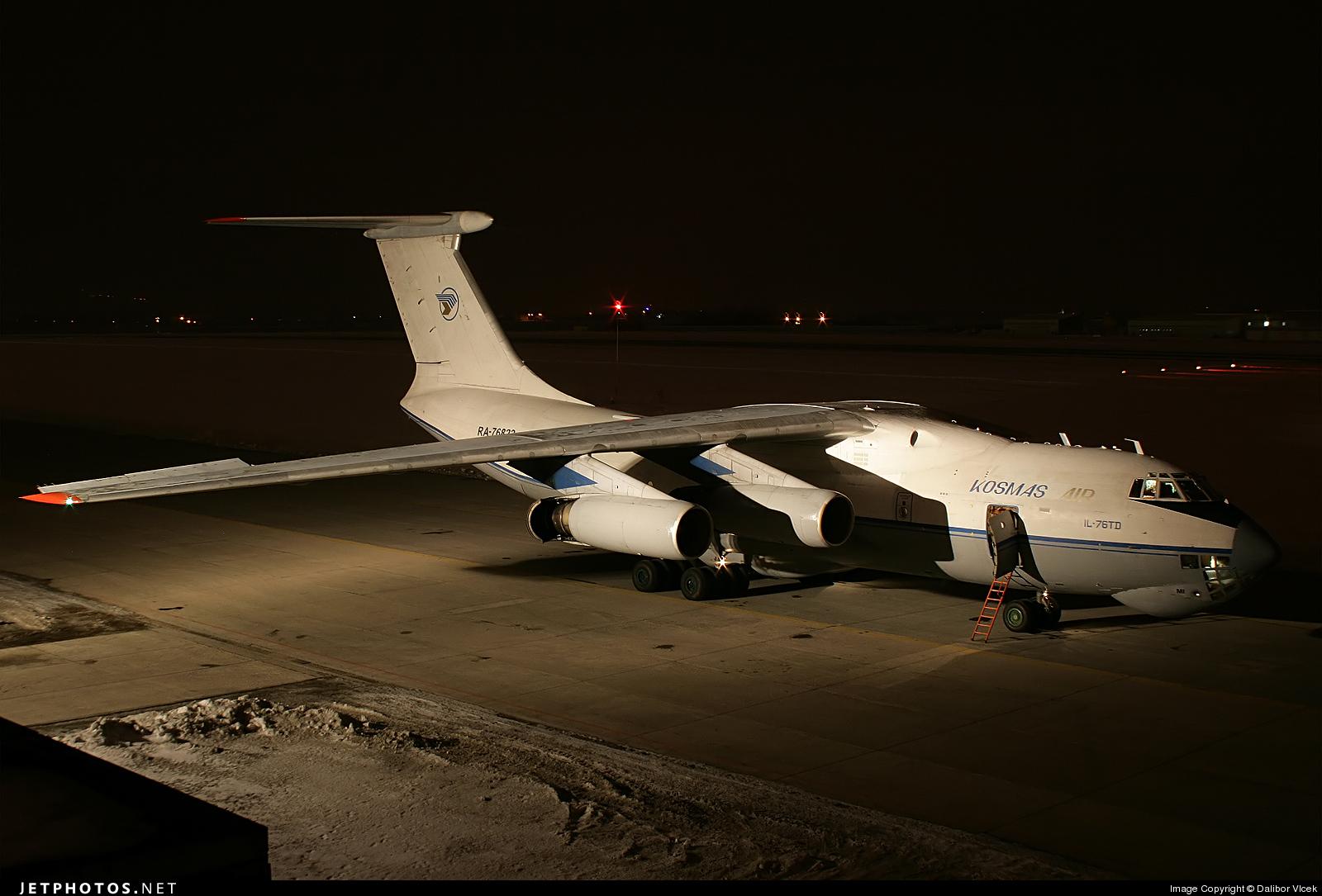 RA-76822 - Ilyushin IL-76TD - Kosmas Air
