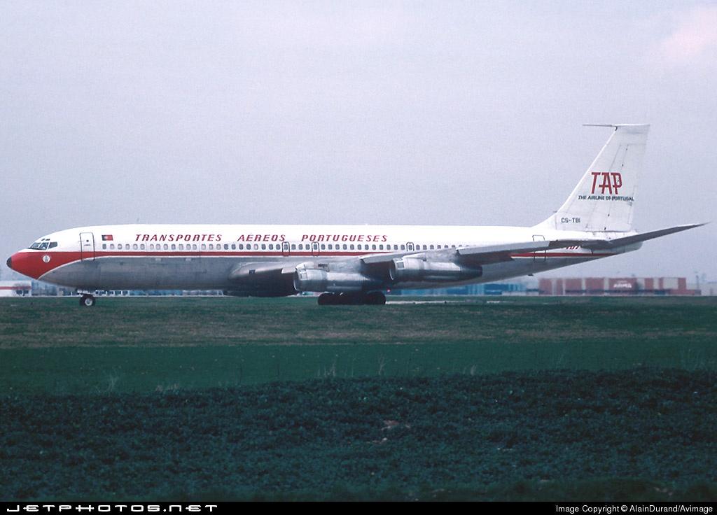 CS-TBI - Boeing 707-399C - TAP - Transportes Aéreos Portugueses