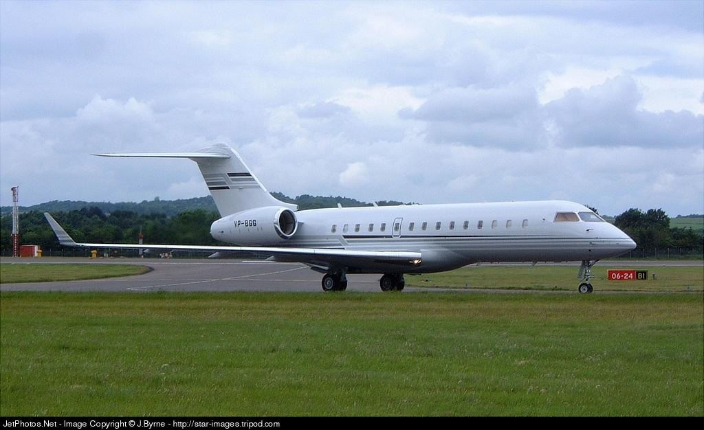 VP-BGG - Bombardier BD-700-1A10 Global Express - Private