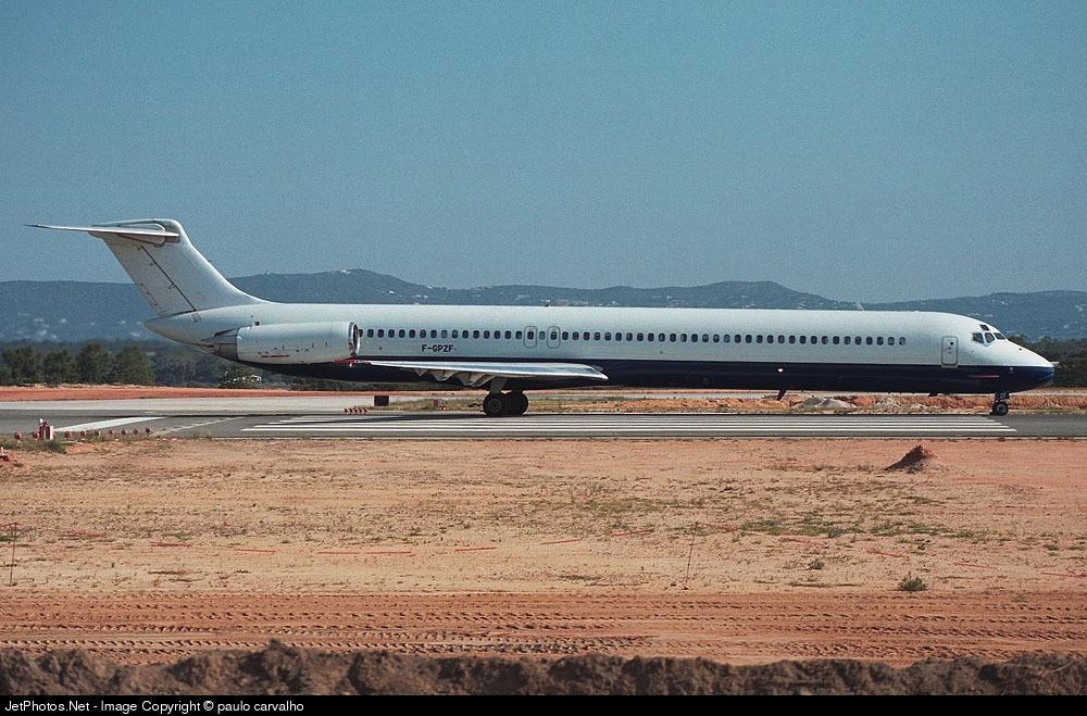 F-GPZF - McDonnell Douglas MD-82 - Air Liberté
