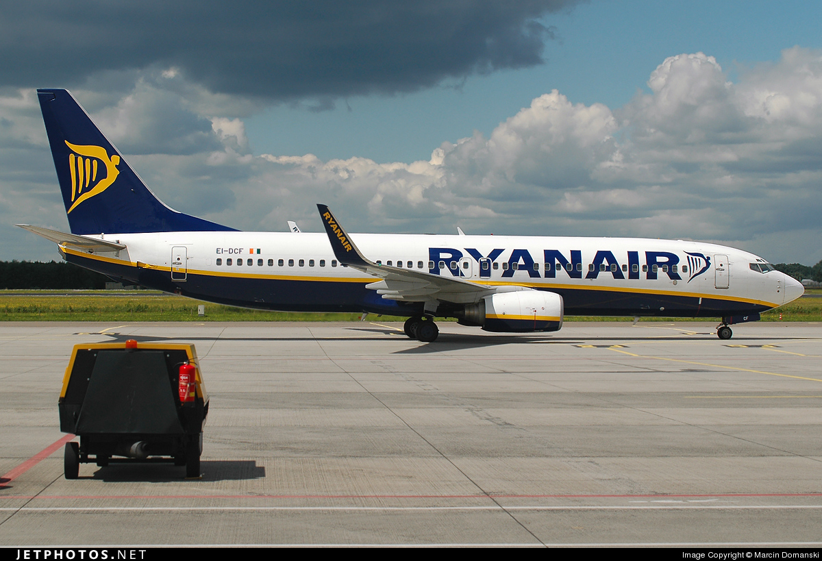 EI-DCF - Boeing 737-8AS - Ryanair