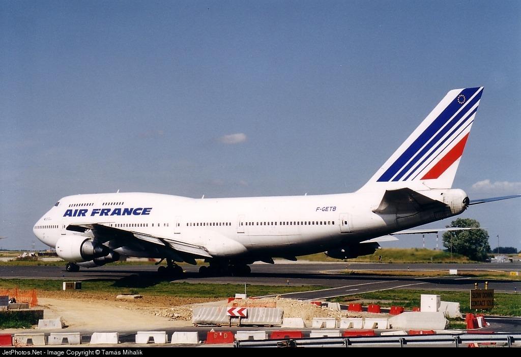 F-GETB - Boeing 747-3B3(M) - Air France