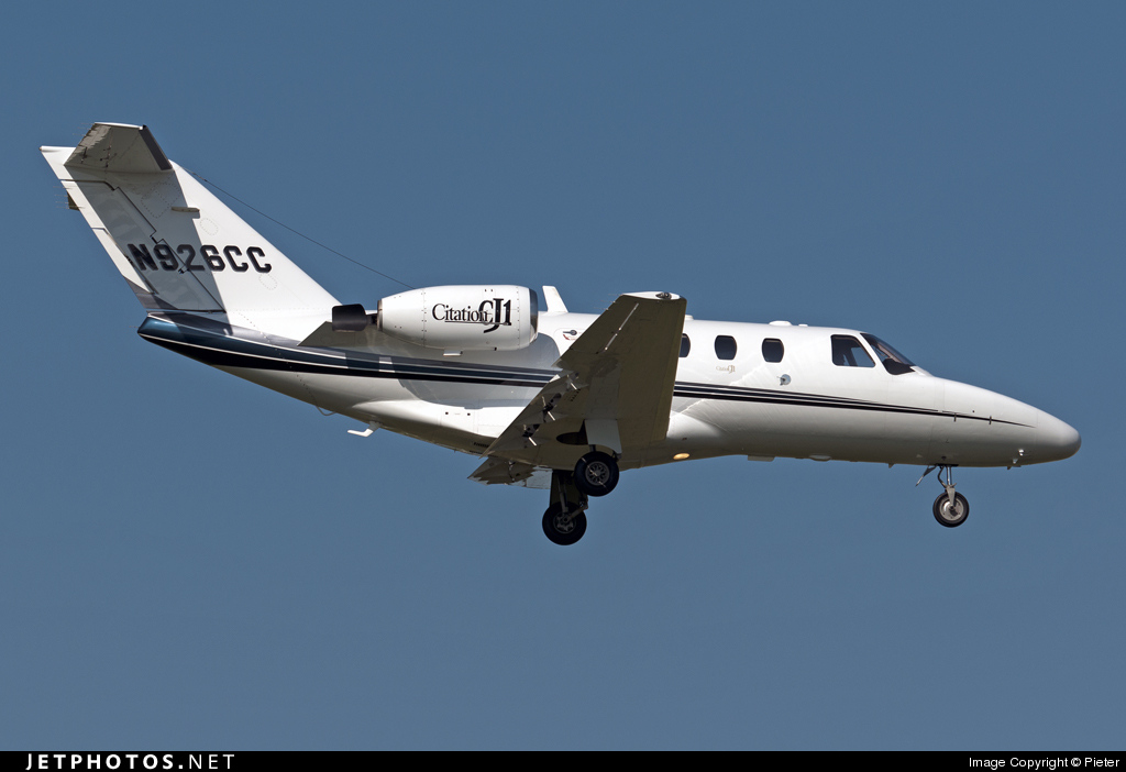 N926CC - Cessna 525 CitationJet 1 - Private