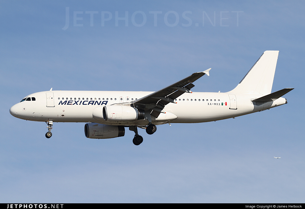 XA-MXX - Airbus A320-231 - Mexicana