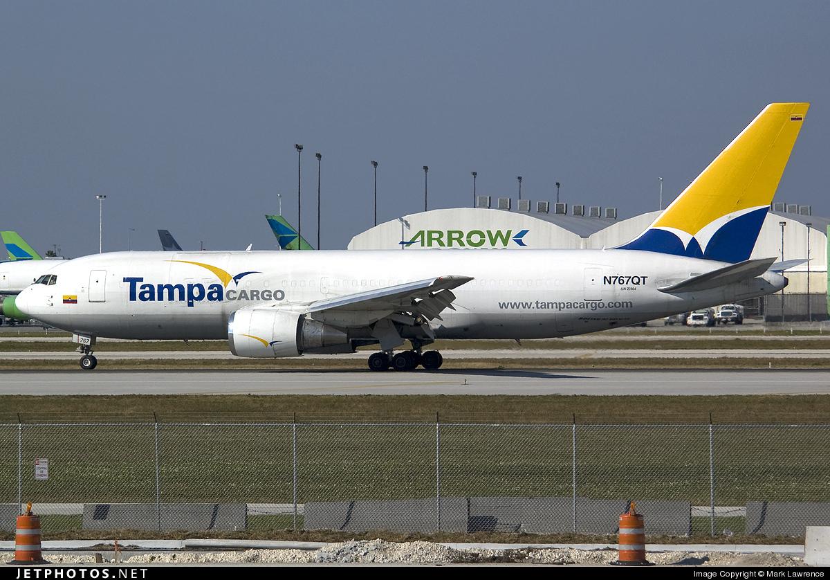 N767QT - Boeing 767-241(ER)(BDSF) - Tampa Cargo