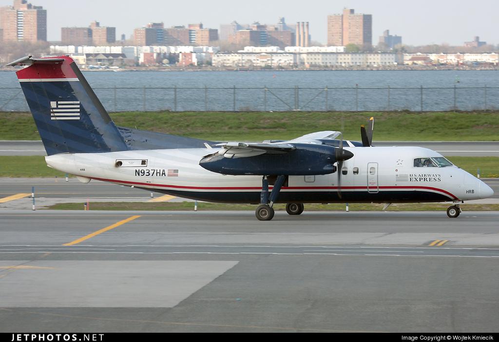 N937HA - Bombardier Dash 8-102 - US Airways Express (Piedmont Airlines)
