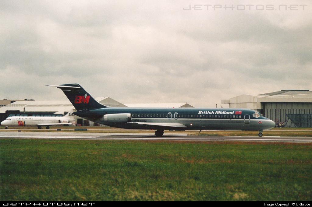 G-BMAM - McDonnell Douglas DC-9-32 - British Midland