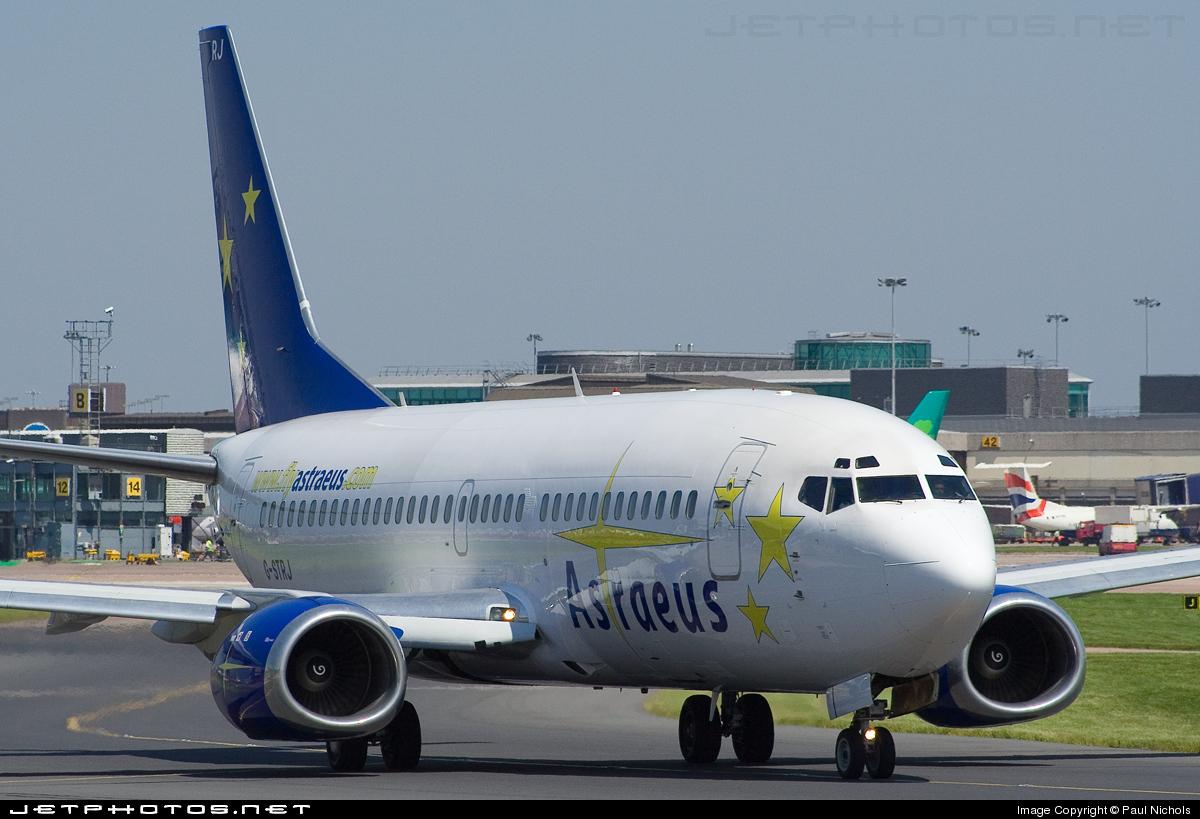 G-STRJ - Boeing 737-33A - Astraeus Airlines