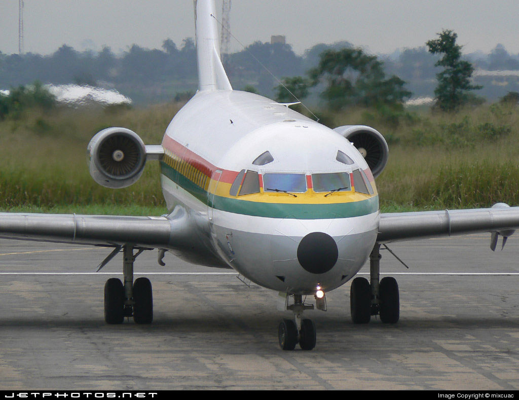 G530 - Fokker F28-3000 Fellowship - Ghana - Air Force
